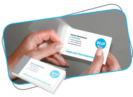 W2p card pack innovative business cards simplify and streamline business card purchases for large companies and organizations accomplish everything online content input approvals and ordering reheart Gallery